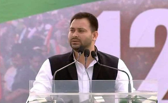 Congress 'Best Equipped' To Lead Opposition: Tejashwi Yadav