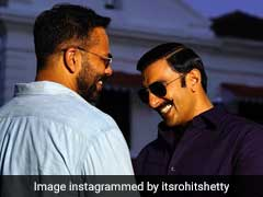 Humbled By The Success Of <I>Simmba</I>, Ranveer Singh Thanks Rohit Shetty For Making Him 'His Hero'