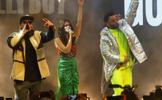 Highlights From Gully Boy Music Launch With Ranveer Singh And Alia Bhatt. Shweta Bachchan Nanda, Farhan Akhtar Also Join In