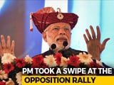 "Video : ""My Actions Against Corruption Infuriated Some"": PM's Dig At Opposition"