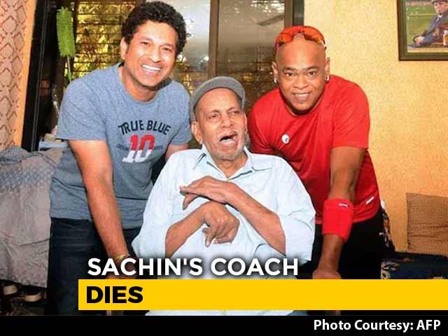 Video : Sachin Tendulkar's Coach Ramakant Achrekar Dies In Mumbai