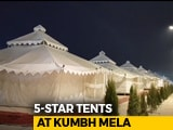 Video : A Peek Into Luxury 5-Star Tents At Prayagraj's Kumbh Mela