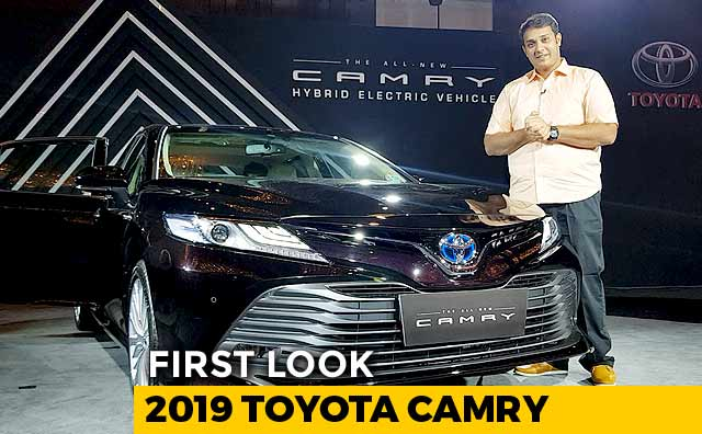 Video : 2019 Toyota Camry First Look