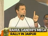 "Video : ""Farmers Should Bat On The Front Foot,"" Says Rahul Gandhi At Rally"