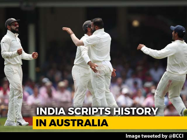 Video : Virat Kohli Leads India To First-Ever Test Series Win In Australia