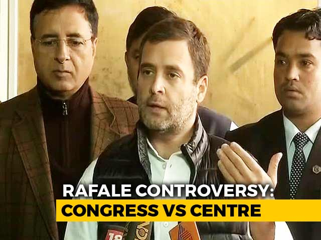 Video : Will Investigate Rafale Deal If Voted To Power In 2019: Rahul Gandhi