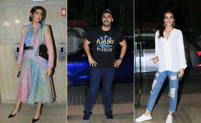 Ek Ladki Ko Dekha Toh Aisa Laga Screening: Arjun Kapoor, Kriti Sanon, Arbaaz Khan Watch Sonam Kapoor's Film