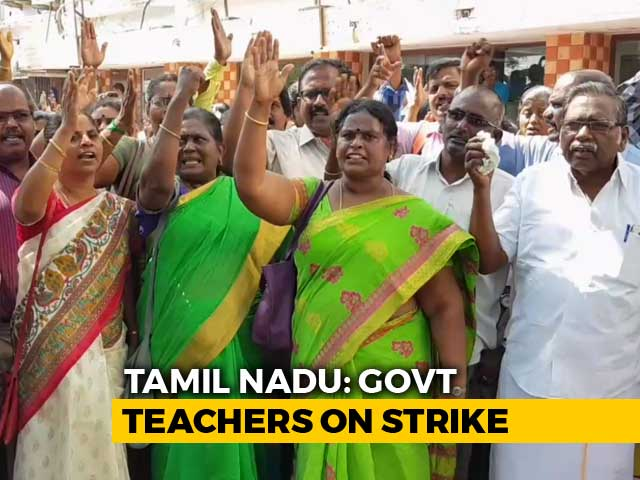 Video : Kamal Haasan Appeals To Tamil Nadu Teachers On Strike To Resume Classes