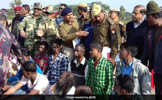 21 Bangladeshis Deported From Assam For Illegally Entering India