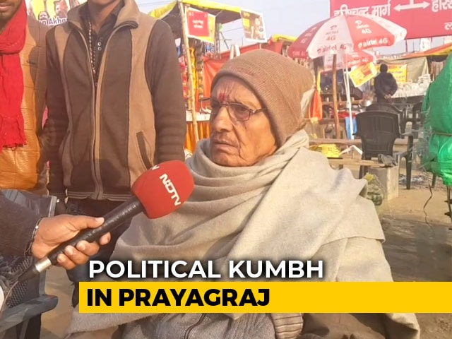 Video : <i>Chai Pe Charcha</i> At Kumbh Mela - Politics Over Faith?