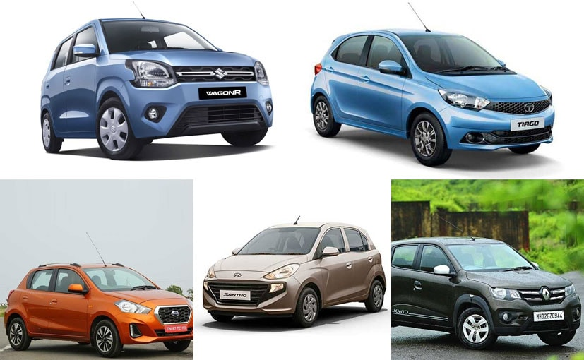 We are only comparing the 2019 WagonR with only the petrol variant of other models.