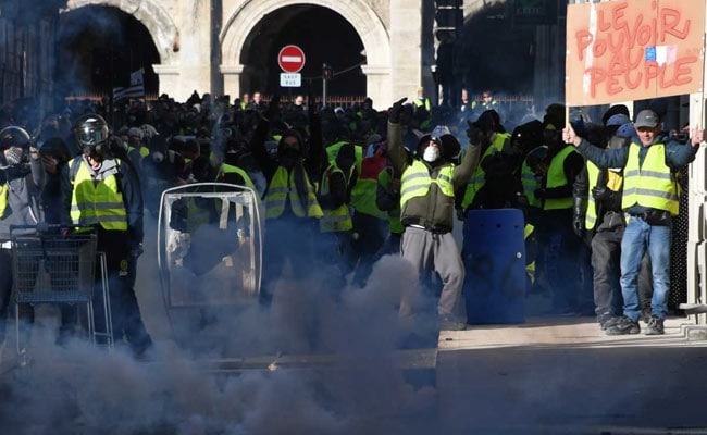France's ''Yellow Vests'' Mobilise For Fresh Round Of Protests