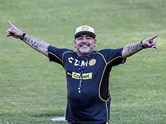 Diego Maradona Recovering At Home After Surgery