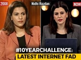 Video : NDTV Anchors And The #10YearChallenge. Take A Look