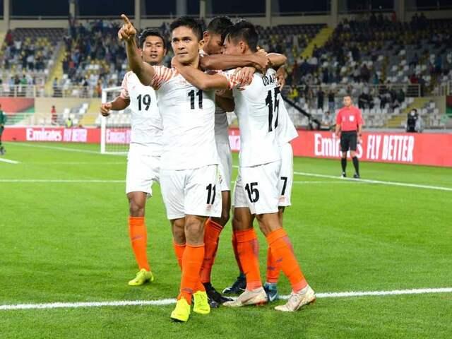 AFC Asian Cup 2019: Sunil Chhetri Scores Brace As India Thrash Thailand 4-1