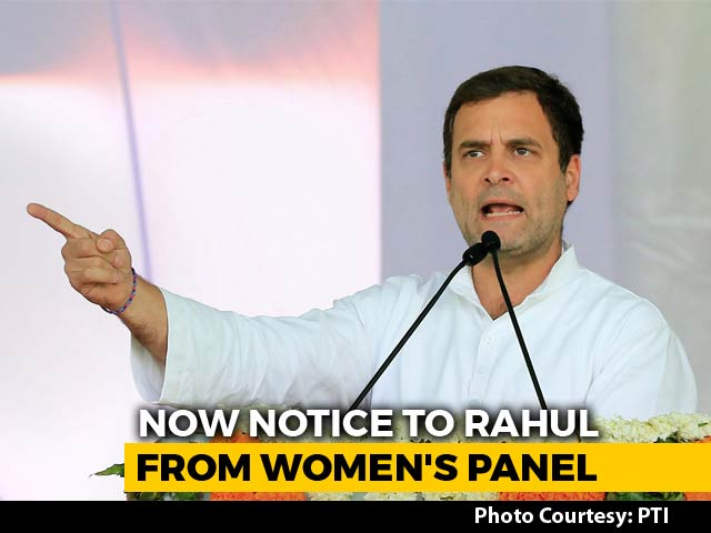 """Video : """"Be A Man,"""" Rahul Gandhi Said To PM. BJP Responds With #MisogynistRahul"""