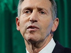 """""""Don't Help Elect Trump"""": Ex-Starbucks CEO, Eyeing White House, Heckled"""