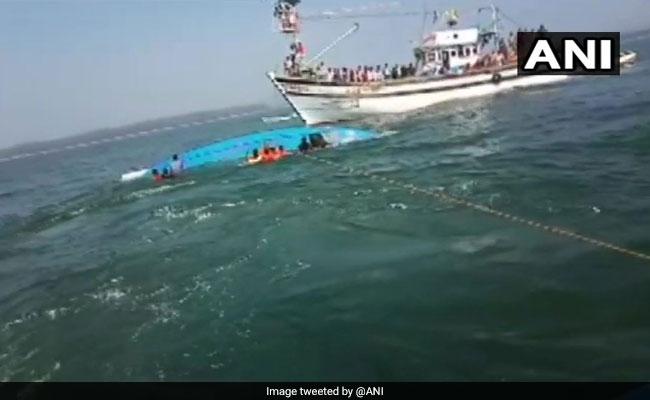 8 Dead After Boat Capsizes Off Karwar In Karnataka