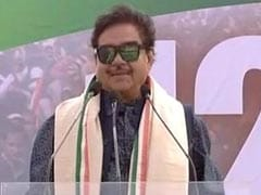"""Keep Backbone Straight"": Shatrughan Sinha's Dig At Rajiv Pratap Rudy"