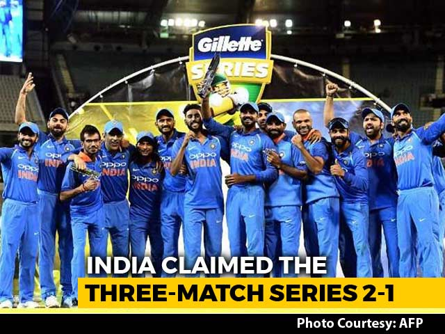 Video : India Win First Bilateral ODI Series In Australia