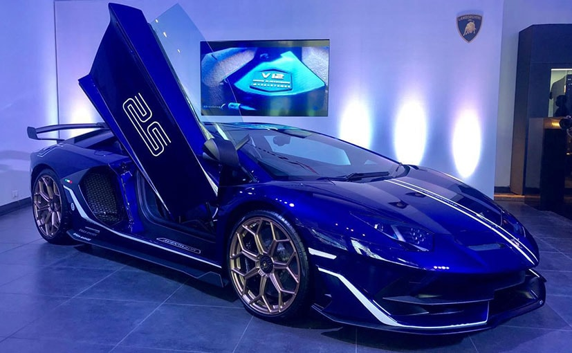 Lamborghini Aventador Svj Launched In India Ndtv Carandbike