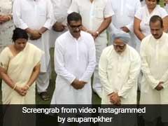 The Accidental Prime Minister: मनमोहन सिंह बने अनुपम खेर ने पूर्व पीएम नरसिंह राव पर लिखा कुछ ऐसा, Video हुआ वायरल