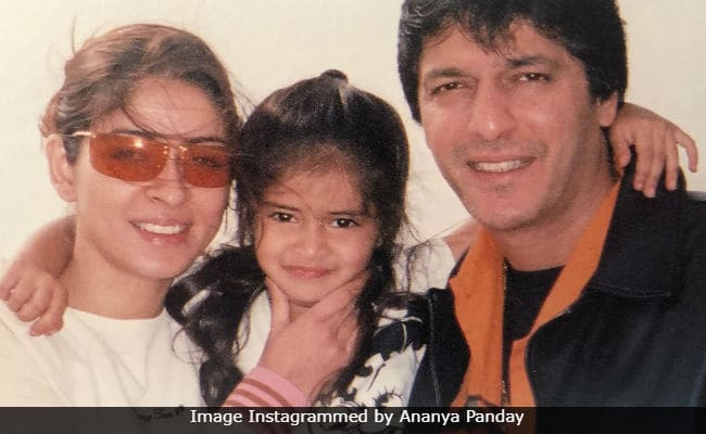 Ananya Panday's Anniversary Wish For Parents Chunky And Bhavana Panday Is A Major Blast From The Past