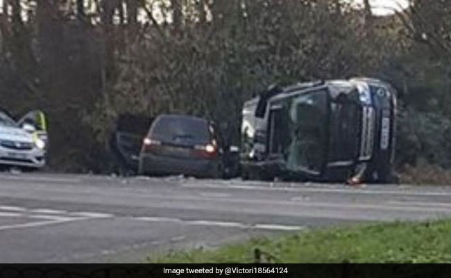 'Saw Car Flip, Realised It Was Prince Philip'. Royal Shaken After Crash