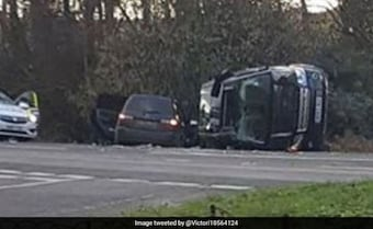 Britain's Prince Philip, 97, Unhurt After Car Crash Near Royal Estate