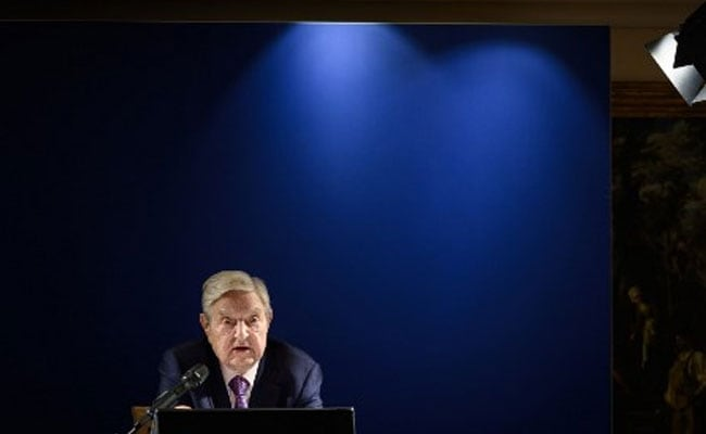 George Soros says China's AI development poses 'mortal danger' to the world