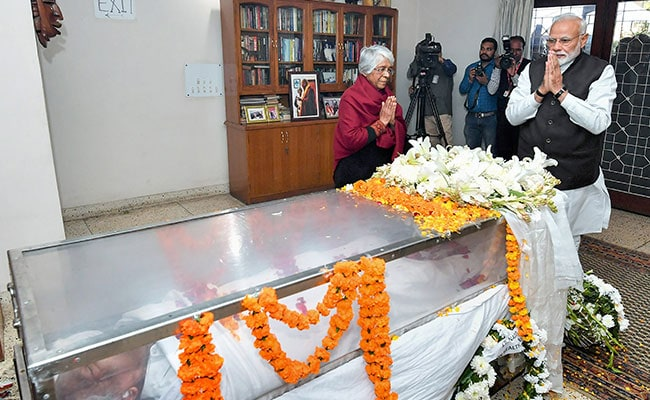 George Fernandes To Be Cremated With State Honors On Thursday
