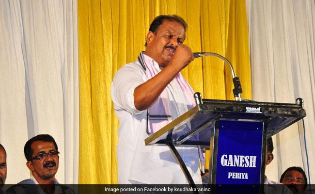 Kannur MP K Sudhakaran Appointed New Kerala Congress Chief