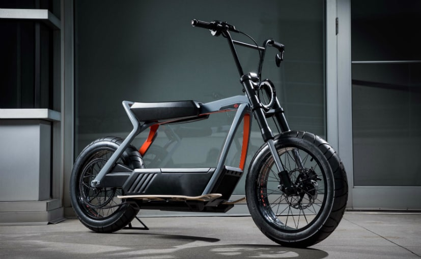 Harley-Davidson unveiled two electric concept bikes at the CES 2019