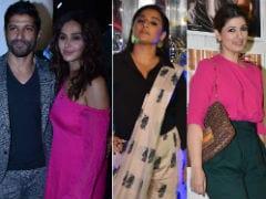 Farhan-Shibani, Vidya Balan, Twinkle Khanna And Sunny Leone Are Scene Stealers At Dabboo Ratnani's Calendar Launch
