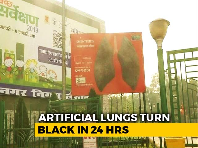 Video : In Lucknow, Artificial Lungs Turn Black In A Day. Took 6 Days For Delhi