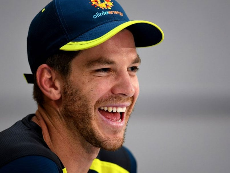 """India vs Australia: """"Can I Get Him To Call You Back?"""": Tim Paine Answers Mid-Presser Phone Call"""