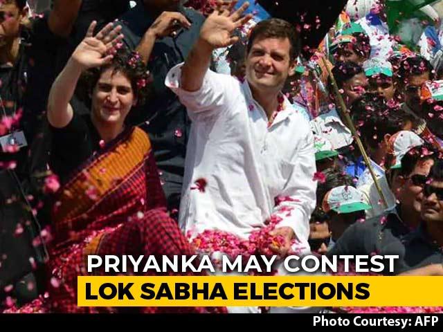 Video : Priyanka Gandhi Vadra May Contest Lok Sabha Polls From Raebareli: Sources