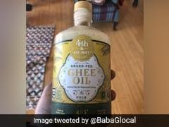 """""""Grass-Fed <i>Ghee</i> Oil"""" Horrifies Indians On Twitter"""