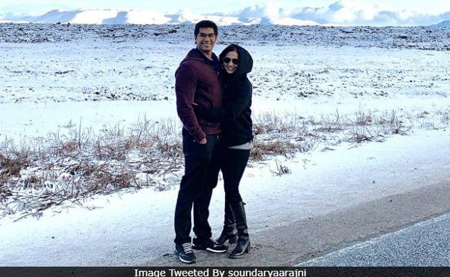 Soundarya Rajinikanth Shares Pics From Honeymoon