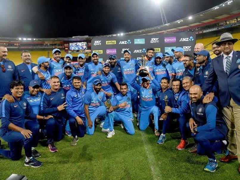 India Crush New Zealand By 35 Runs In Wellington, Win ODI Series 4-1