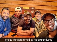 "Hardik Pandya Enjoys ""Food"" With Teammates, Trolls Ask For ""Coffee"""