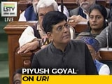 "Video : Piyush Goyal's ""Josh"" Moment, As Film <i>Uri</i> Crops Up During Budget"