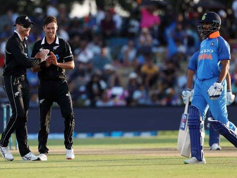 IND vs NZ 5th ODI: Thats how Trent boult becomes the biggest enemy of shikhar Dhawan