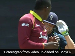 Jos Buttler Wallops Sheldon Cottrell For Six, Gives Him A Salute - Watch