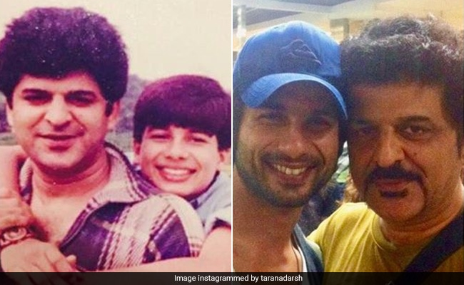 Rajesh Khattar's Then-And-Now Post For Shahid Kapoor Makes For An Adorable Birthday Wish