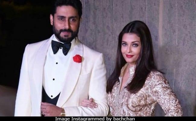 Abhishek Bachchan Comments On Wife Aishwarya's Birthday Post - 2 Little Words