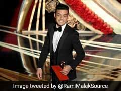 Oscar में बेस्ट एक्टर अवॉर्ड मिलने के बाद स्टेज से गिर पड़े Rami Malek, लोगों ने उठाया, देखें VIDEO