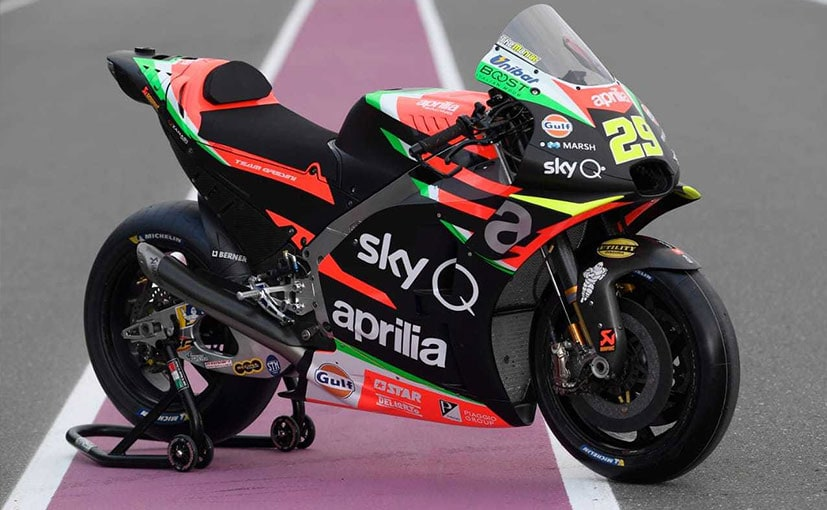 MotoGP: Aprilia Racing Teams Up With Gulf Oil For 2019 Season
