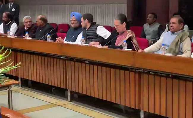 After Security Meeting At PM's Office, Opposition Meets In Parliament