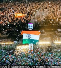 2-Minute Silence For Soldiers Killed In Pulwama At DJ Marshmello's Show